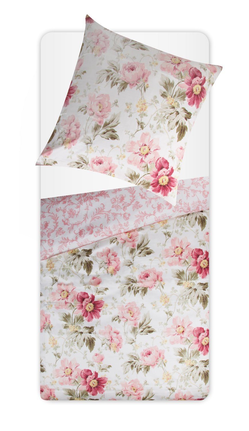 laura ashley bettw sche peony garden v1 155 x 220 cm ebay. Black Bedroom Furniture Sets. Home Design Ideas